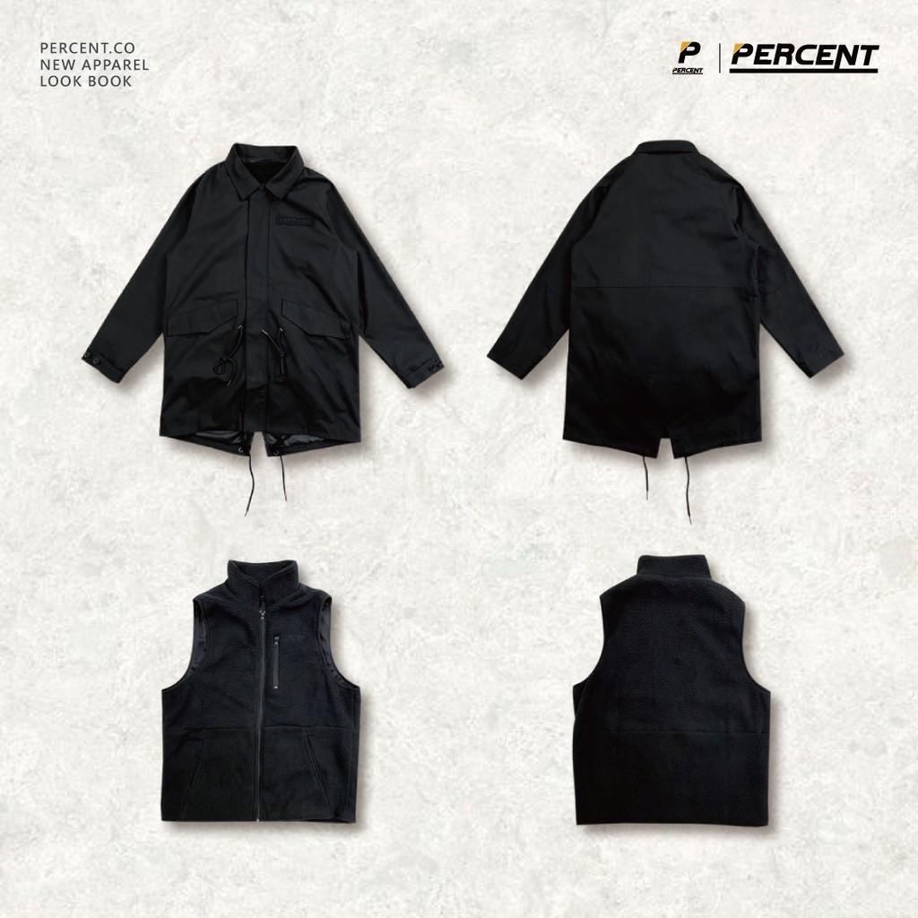 PERCENT% 3WAY-M51 PARKA 軍大衣 機能外套 軍裝外套 組合外套 可拆式外套 大尺碼外套 保暖外套