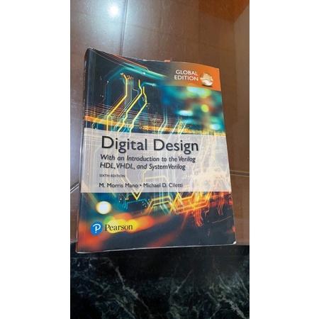 Digital Design 6/e-數位邏輯設計課本