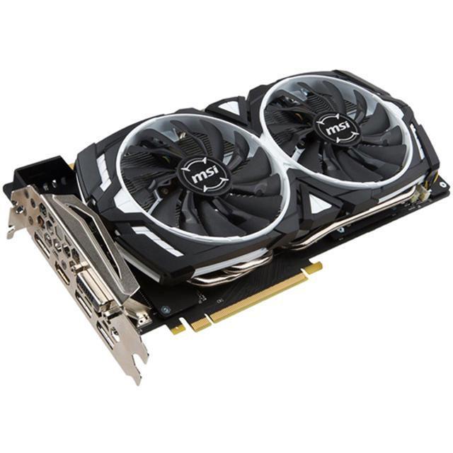 MSI GeForce GTX 1070 ti  1070ti ARMOR 8G 顯示卡