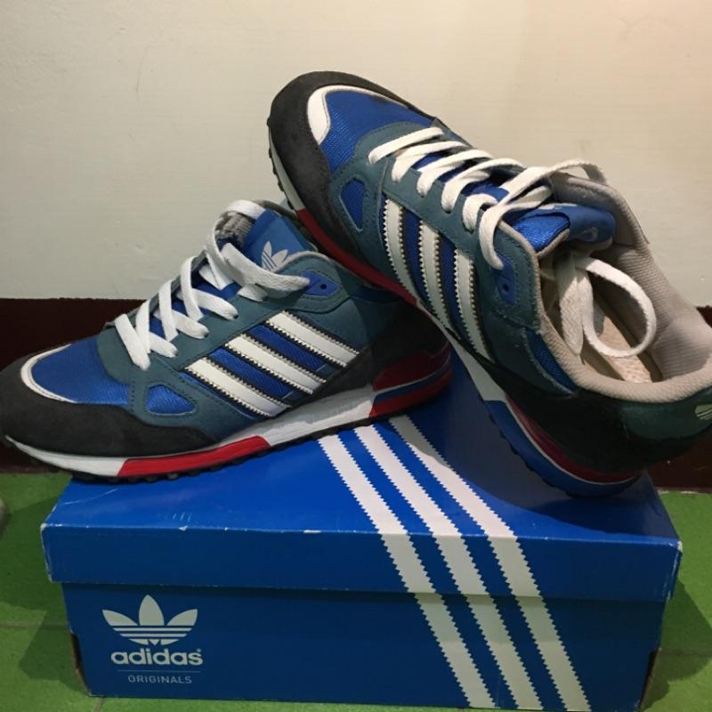 Adidas  Zx750  藍寶白配色