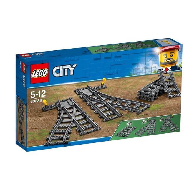 全新 樂高 Lego 60238 CITY 城市 切換式軌道