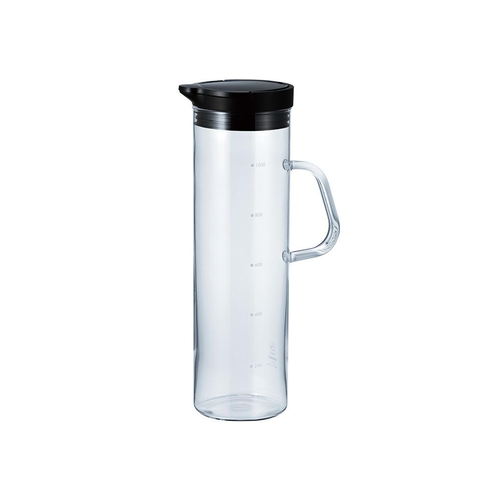 【日本HARIO】按壓式冷水壺1100ml-共2款《WUZ屋子》耐熱玻璃 日本製