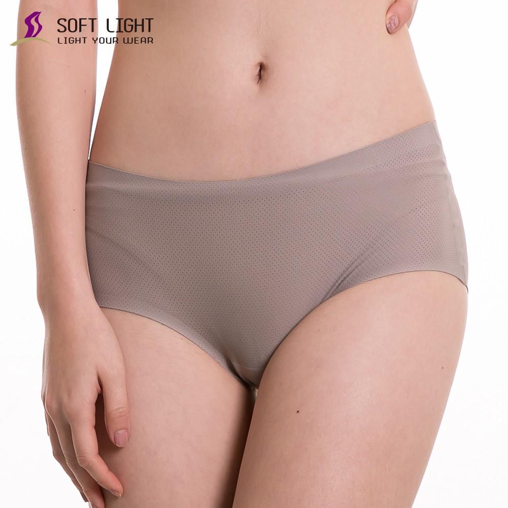 SOFT LIGHT -「沁涼無痕」創新隱形貼合內褲(鐵灰)