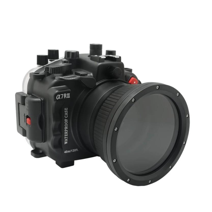 40m海蛙seafrogs相機潛水防水殼Sony A7 III(A7M3)索尼A7R III
