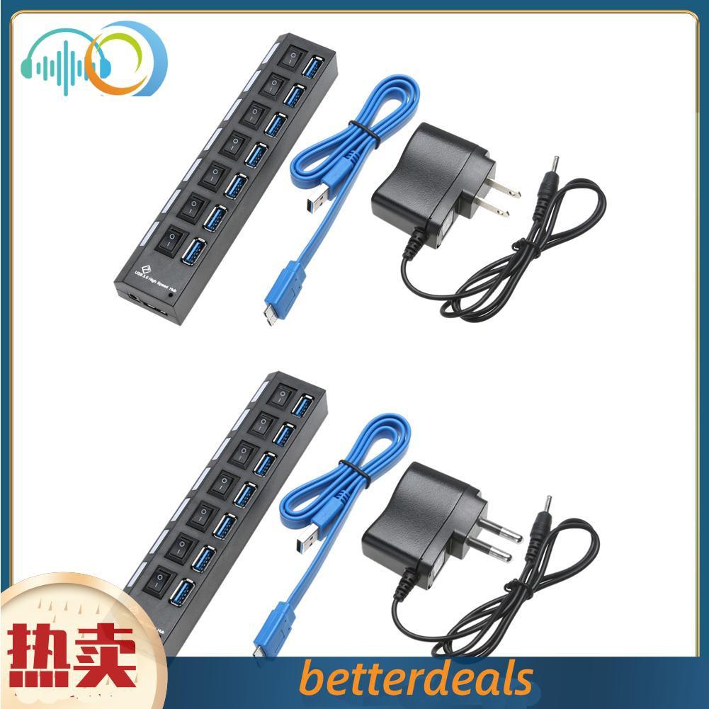 usb3.0分線器 7口usbhub 3.0hub 擴展器 USB3.0HUB 7口分線器