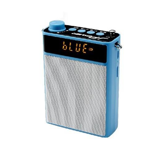 陶老師(537藍牙型)攜帶式擴音喇叭 藍-SP579