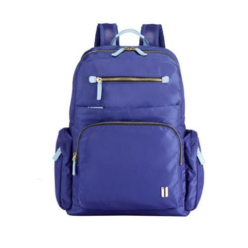 SUMDEX 12.1吋+10吋平版多隔層聚光後背包NON-734TB深藍