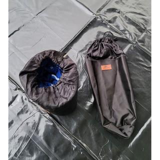 直筒式 地墊 邊布 圍布 天幕 地墊 鋁箔墊 收納袋 300x300 CM尺寸以內都可以使用 臺中市