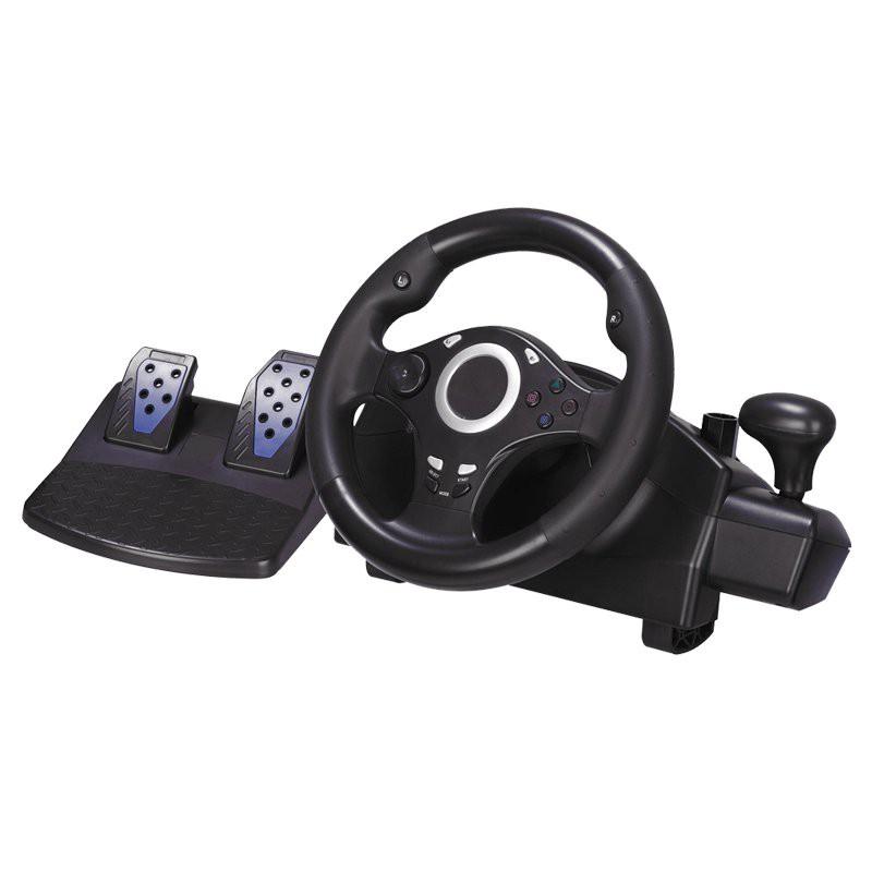 【新款-遊戲方向盤】趣迷PC電腦版switch遊戲手柄方向盤PS4XBOX360/XBOXONE安卓電視GTA【方向盤】