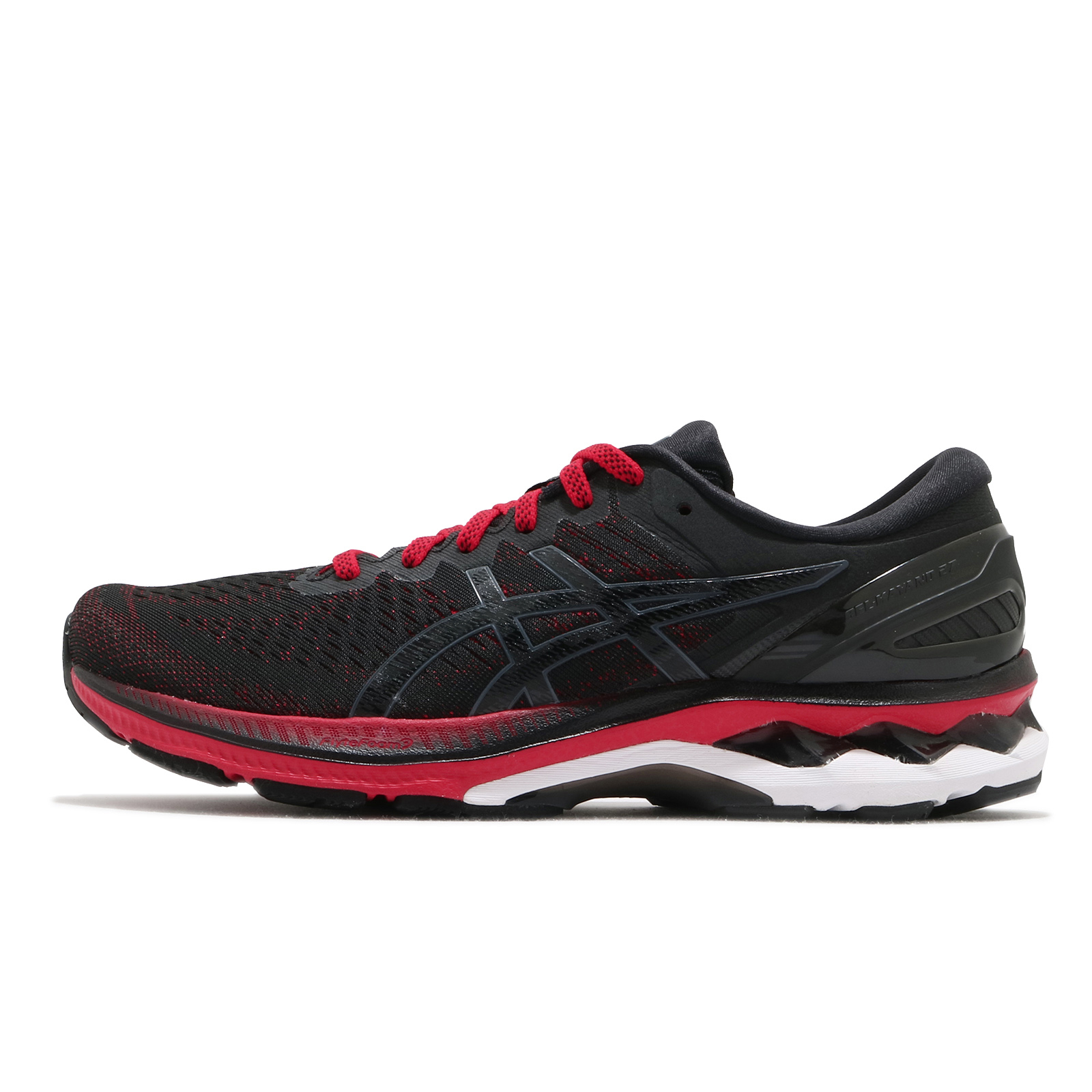Asics 慢跑鞋 Gel-Kayano 27 黑 紅 亞瑟士 路跑 男鞋 馬拉松 【ACS】 1011A767-600