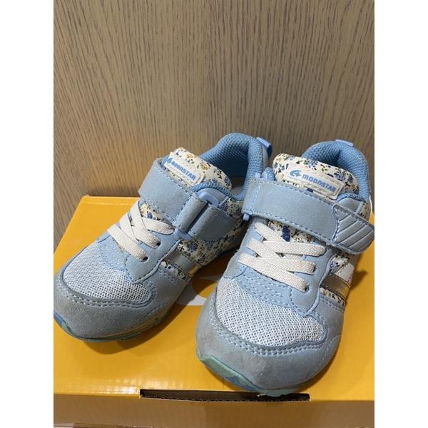 (二手)日本月星Moonstar機能童鞋 HI系列 預防矯正款2121S