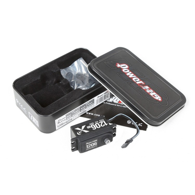 【限量】Power HD第二代 1206 G2 短身數碼金屬齒靜音舵機競速RS / 漂移DS