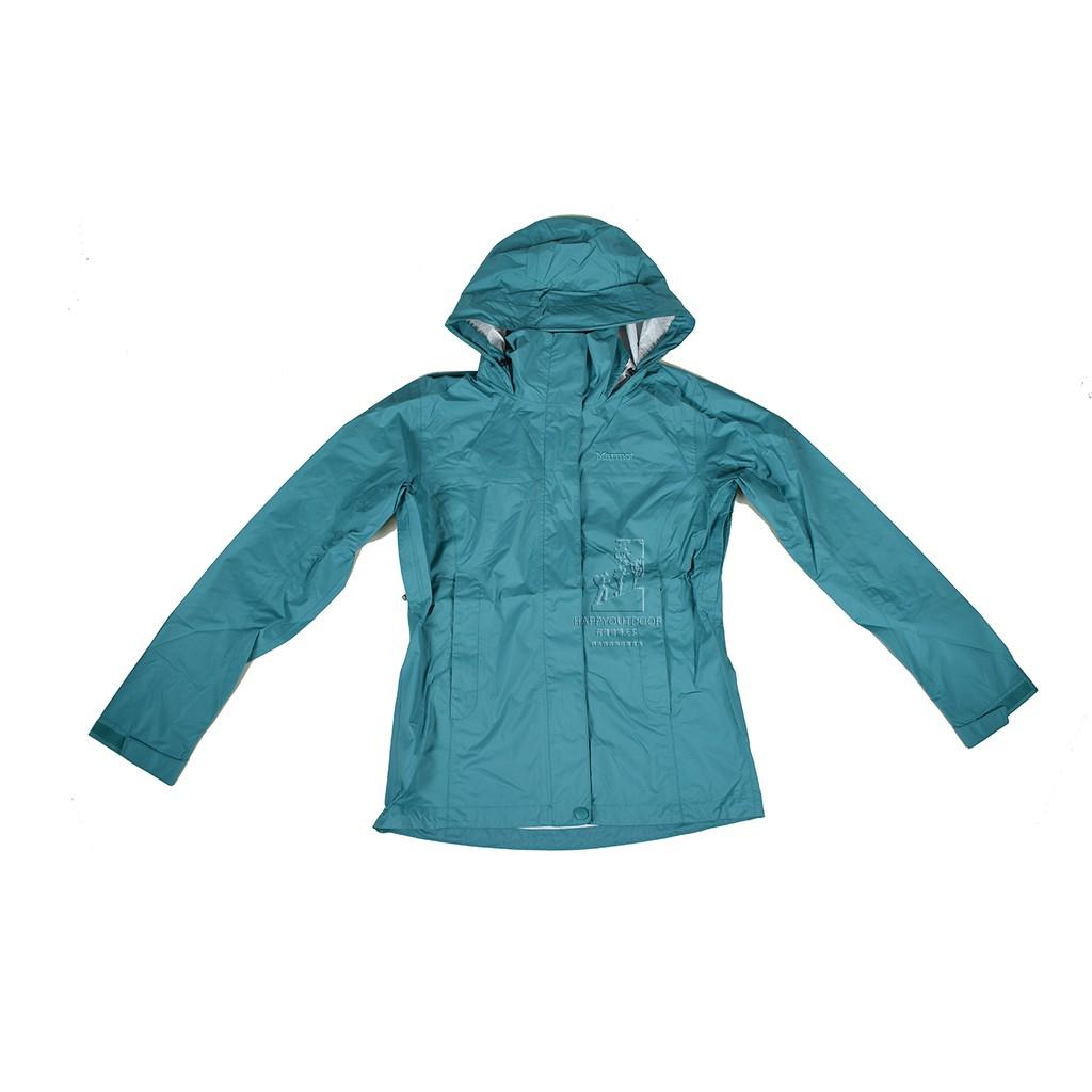 MarmotW PreCip 女款 輕薄防風防水透氣外套46200-4788-Patina GreenJ190