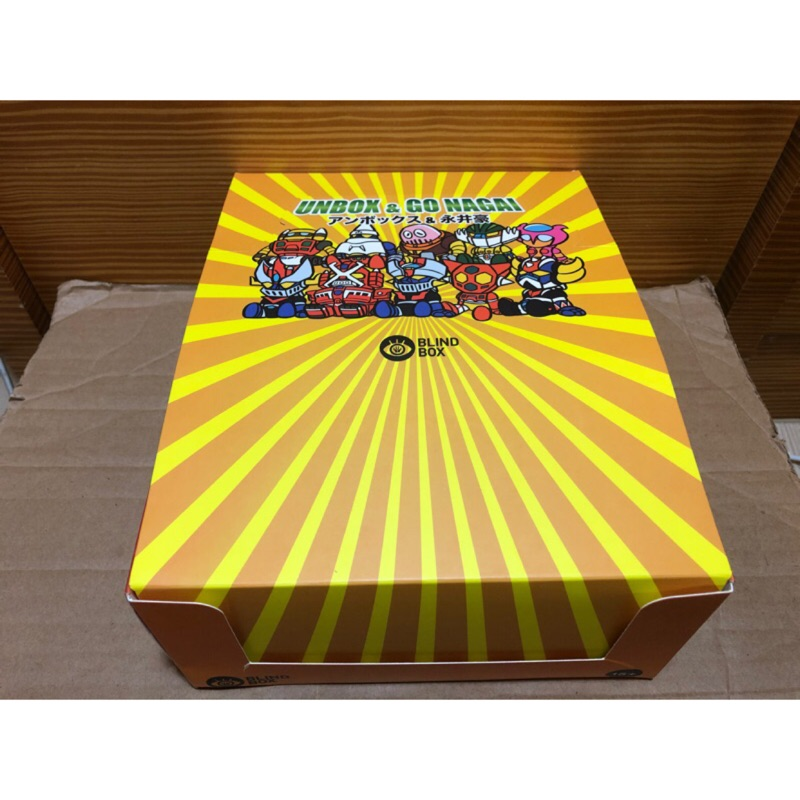 Nagai x Unbox盲盒 Unbox 永井豪 鐵金剛 盒玩
