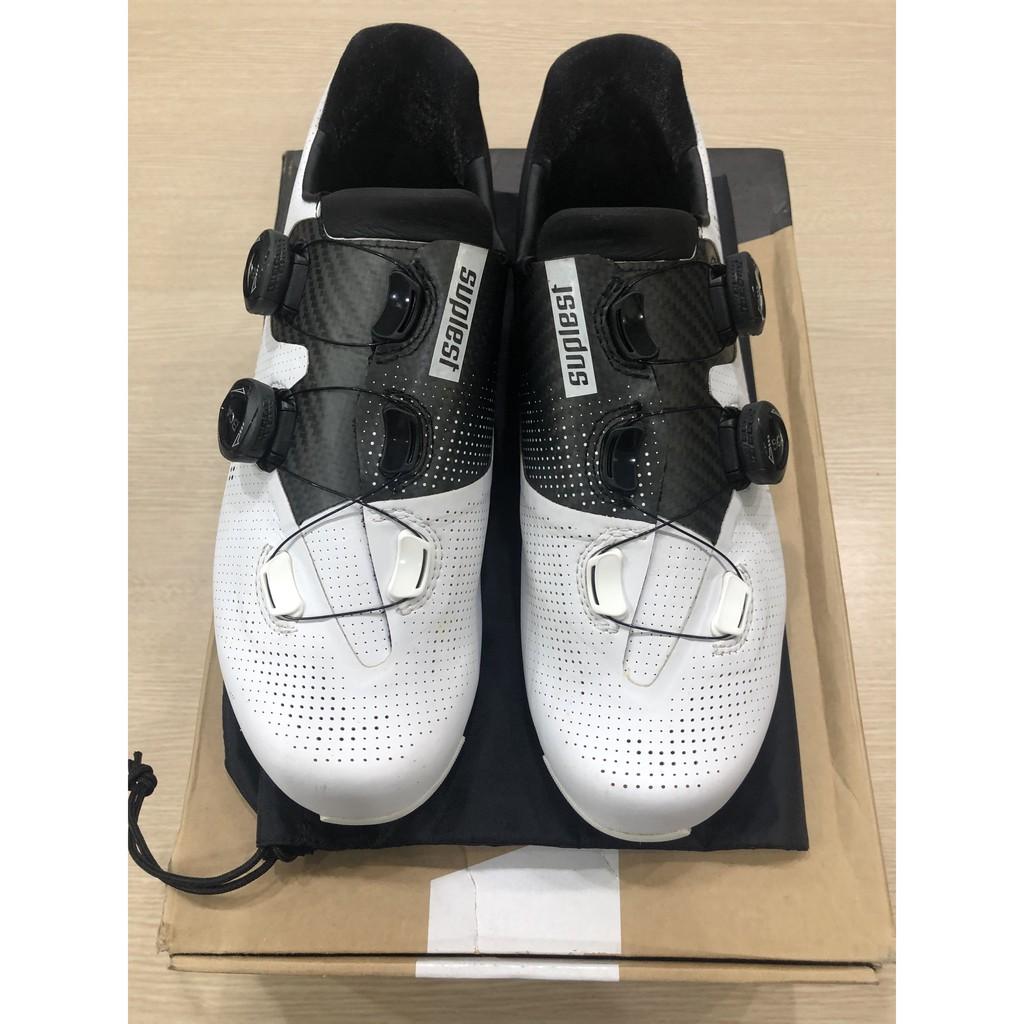 小熊鞋 Suplest edge+ pro Road Cycling Shoes EU43.5 85%新 鞋墊/旋鈕全新