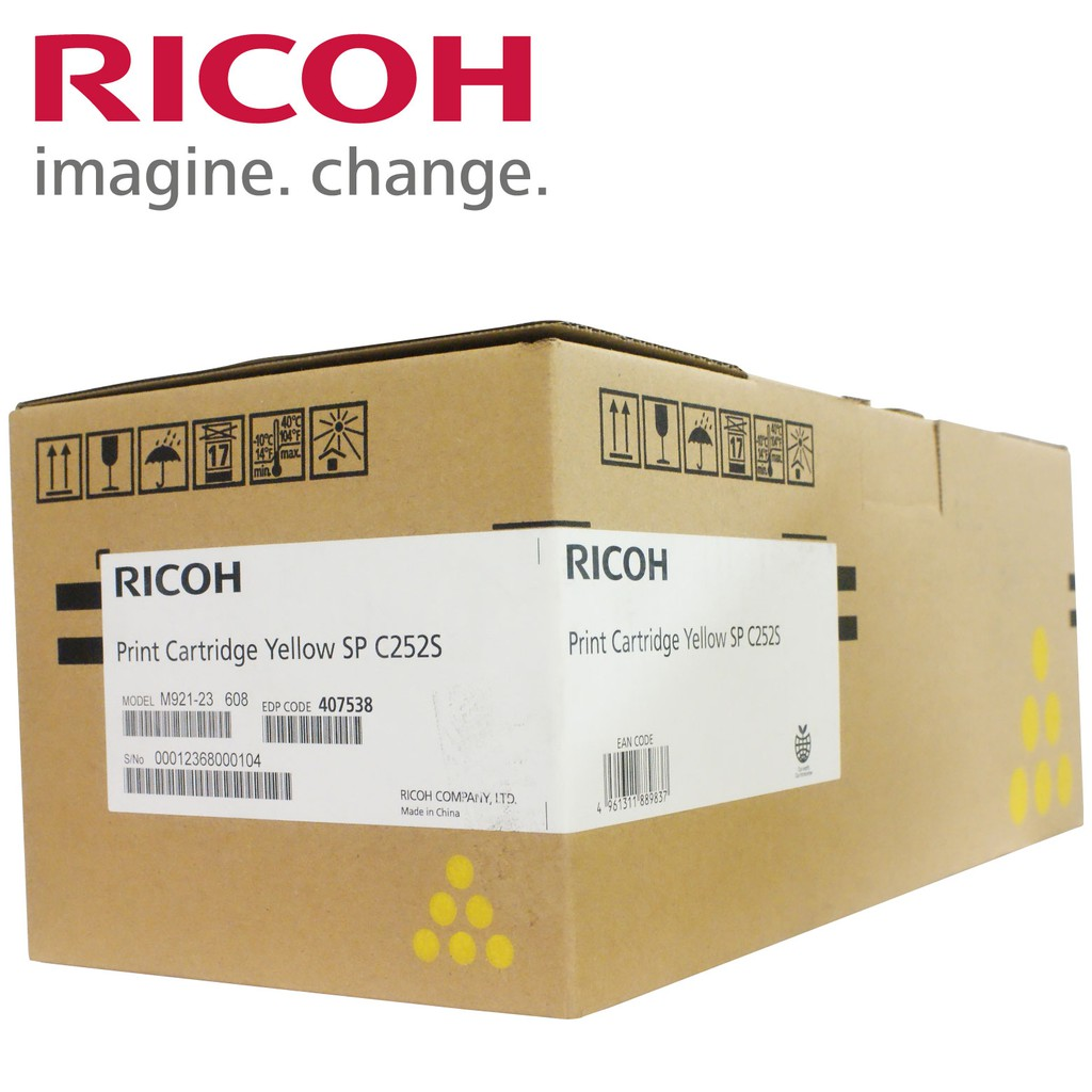 RICOH Print Cartridge Yellow SP C252S 黃色碳粉匣