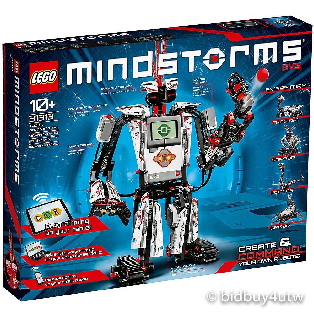 LEGO 31313 樂高機器人 EV3 家用版 樂高Mindstorms系列【必買站】樂高盒組