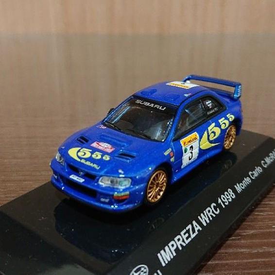 日本代購 CM's 1/64 Subaru impreza wrc 1998