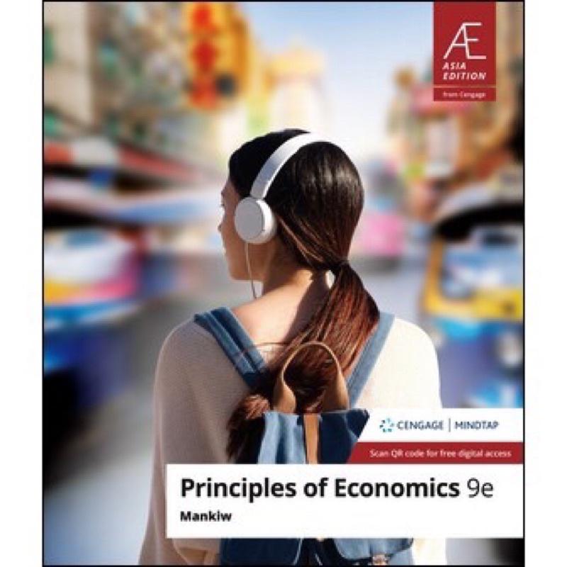 PRINCIPLES OF ECONOMICS 9E MANKIW經濟學
