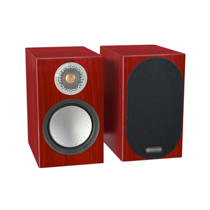 英國 Monitor Audio 銀Silver 50 書架型喇叭 木紋版 公司貨享保固《名展影音》