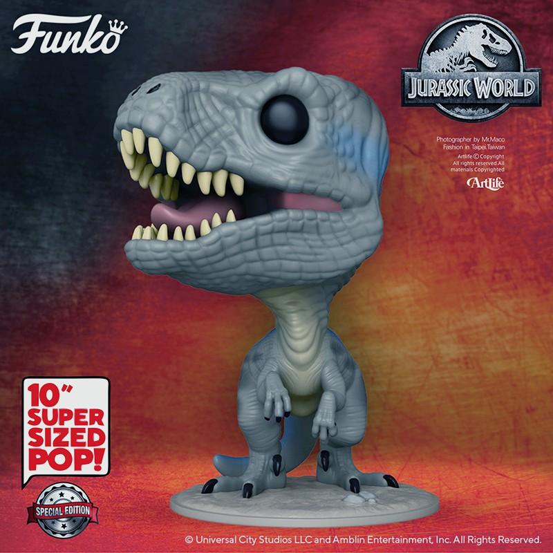 Artlife @ FUNKO POP MOVIES JurassicWorld JUMBO BLUE 侏羅紀世界 小藍