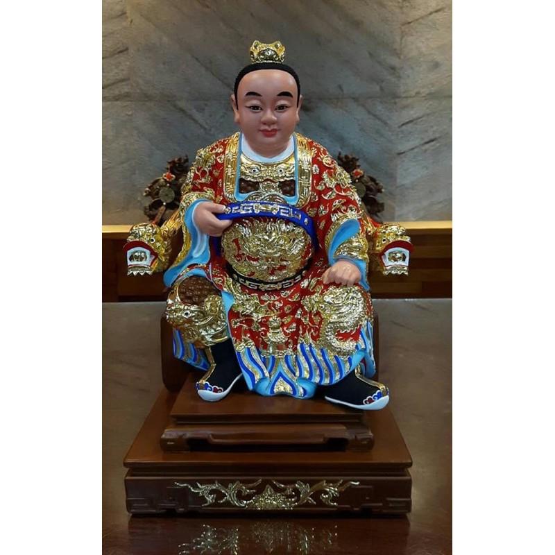 1尺3 樟木實木雕刻 中壇元帥 三太子 太子爺 神像金身