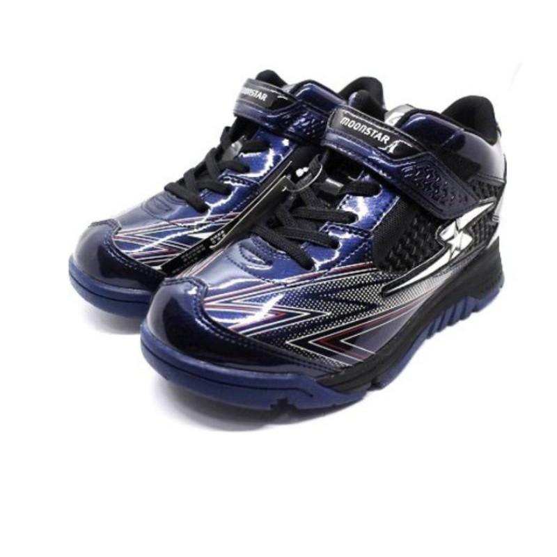(二手)Moonstar大童高筒鞋爪釘雪鞋