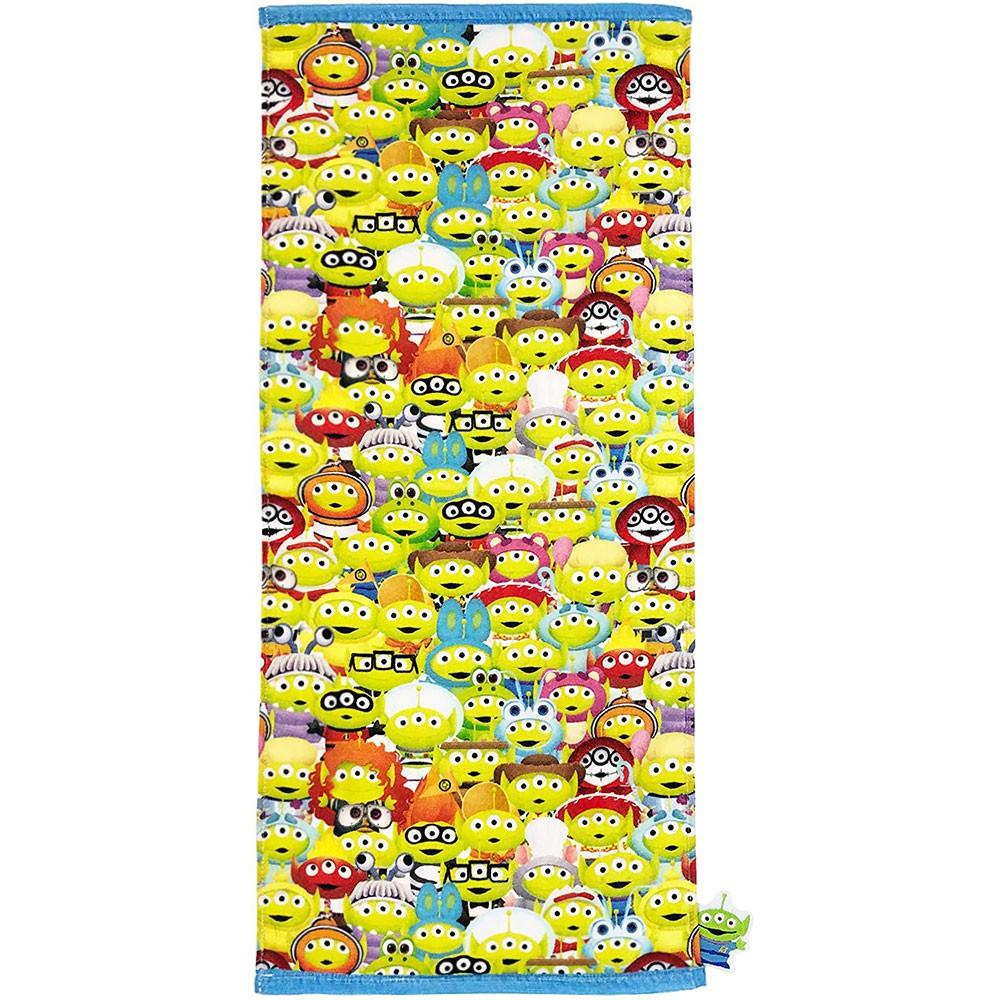 Marushin 丸真 毛巾 玩具總動員 三眼怪 變裝滿版 34×80cm