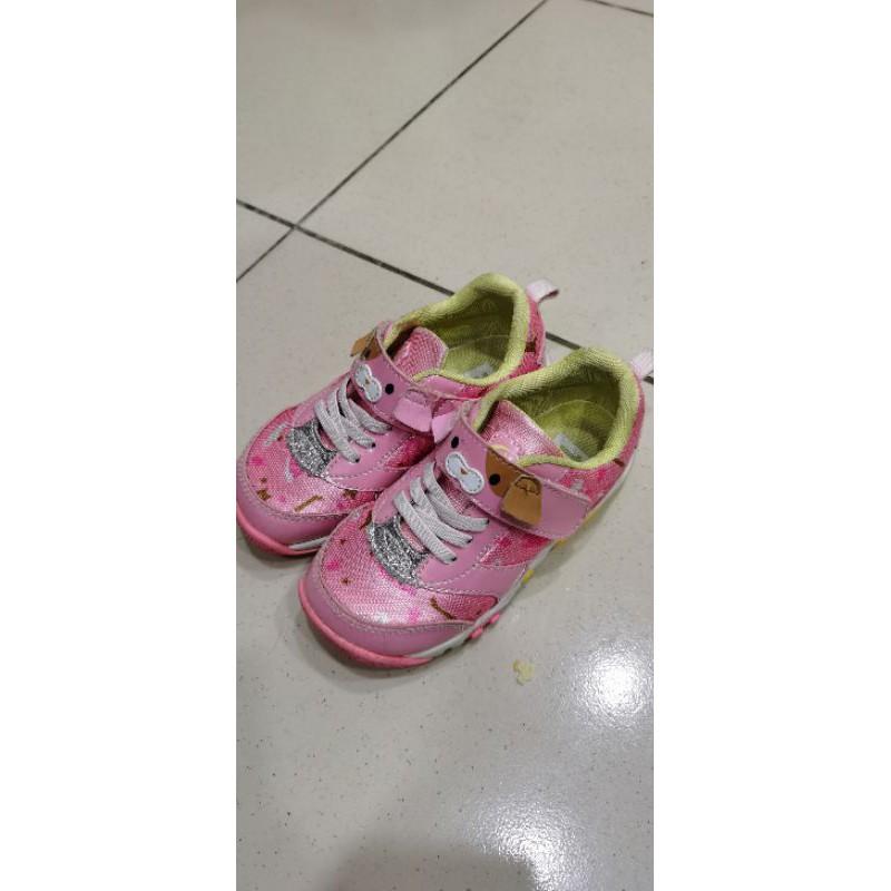 二手Moonstar兒童布鞋 17cm
