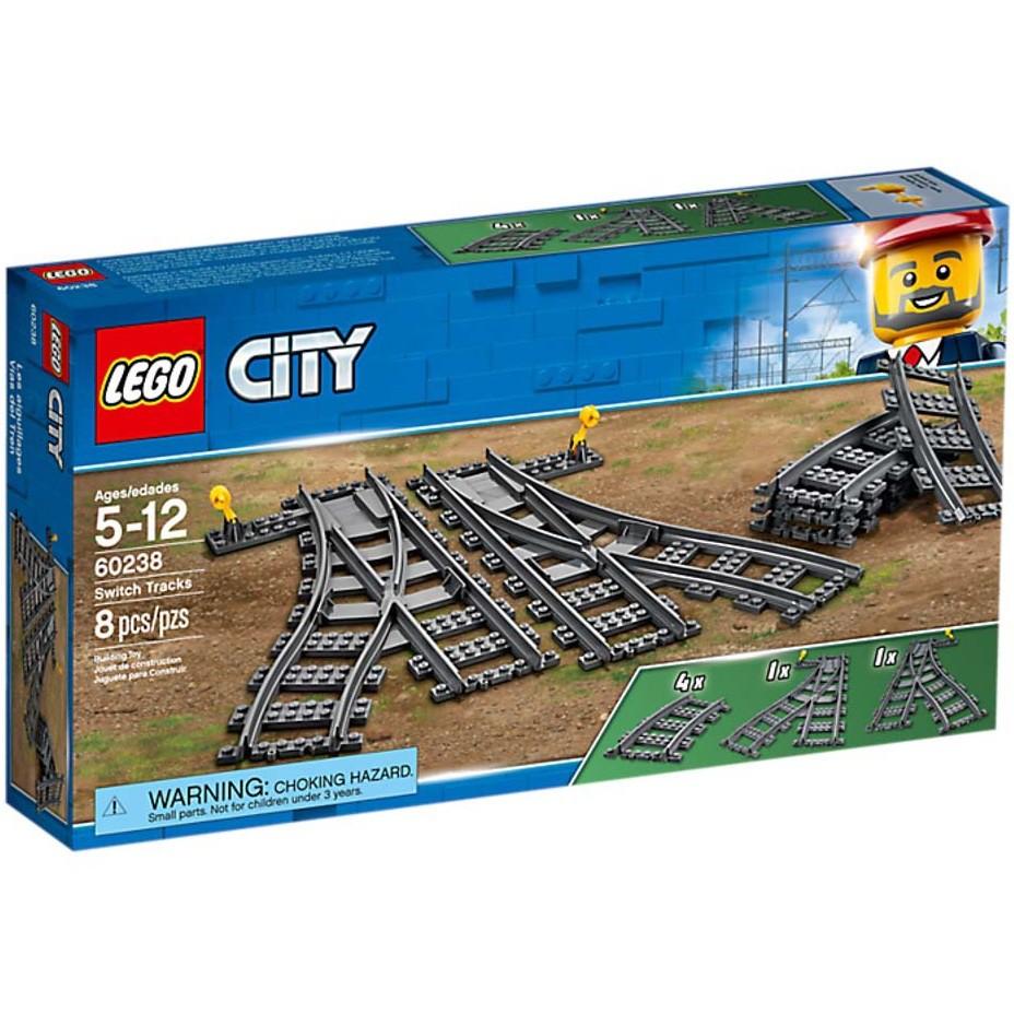 <全新> LEGO City 切換式軌道 Switch Tracks 60238 <全新>