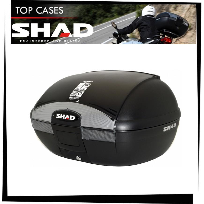 【TL機車雜貨店】西班牙SHAD SH45箱子+靠背+YAMAHA SMAX 後箱架