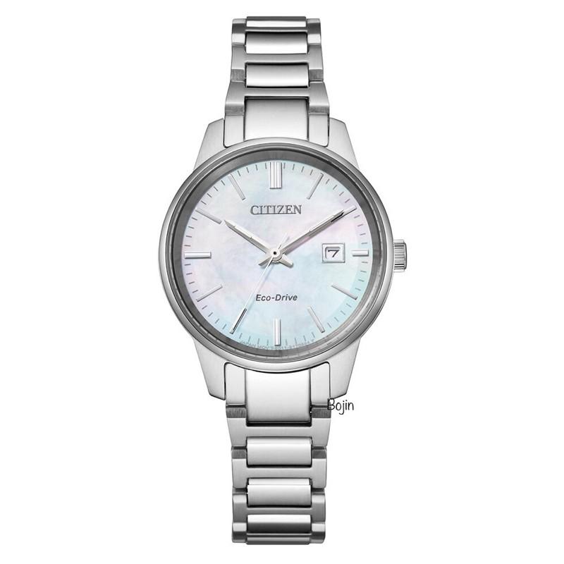 【CITIZEN星辰錶】PAIR系列光動能EW2591-82D原廠公司貨附發票【Bojin Watch】
