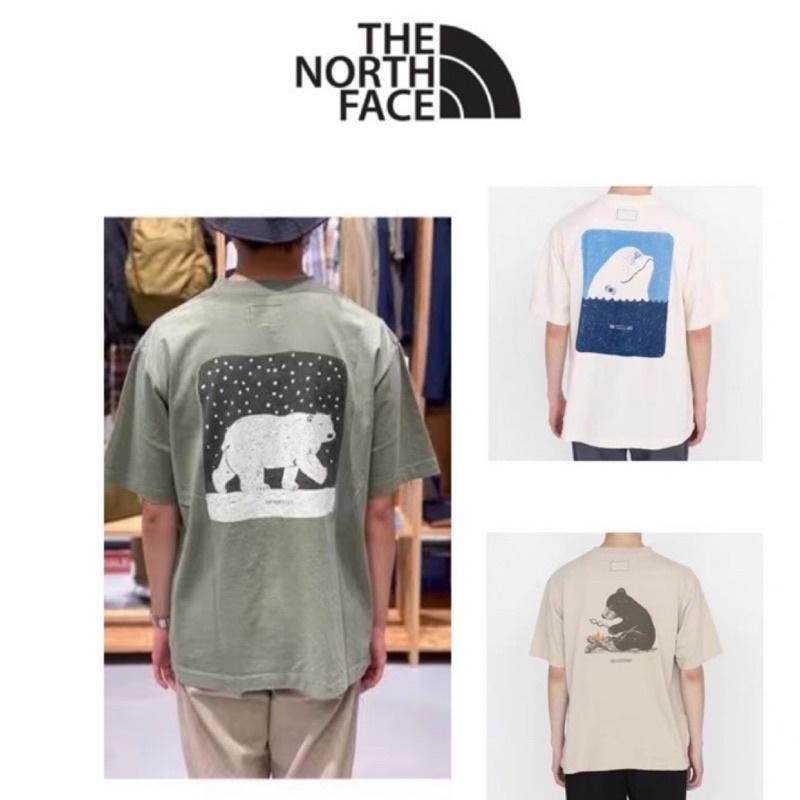 TNF THE NORTH FACE 紫標5.5oz H/S Graphic海豚 鯨魚 北極熊短袖 潮流 滑板 北面