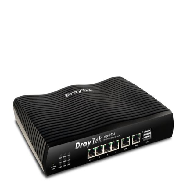 刷卡居易科技 Vigor2926 SSL VPN寬頻路由器   DrayTek