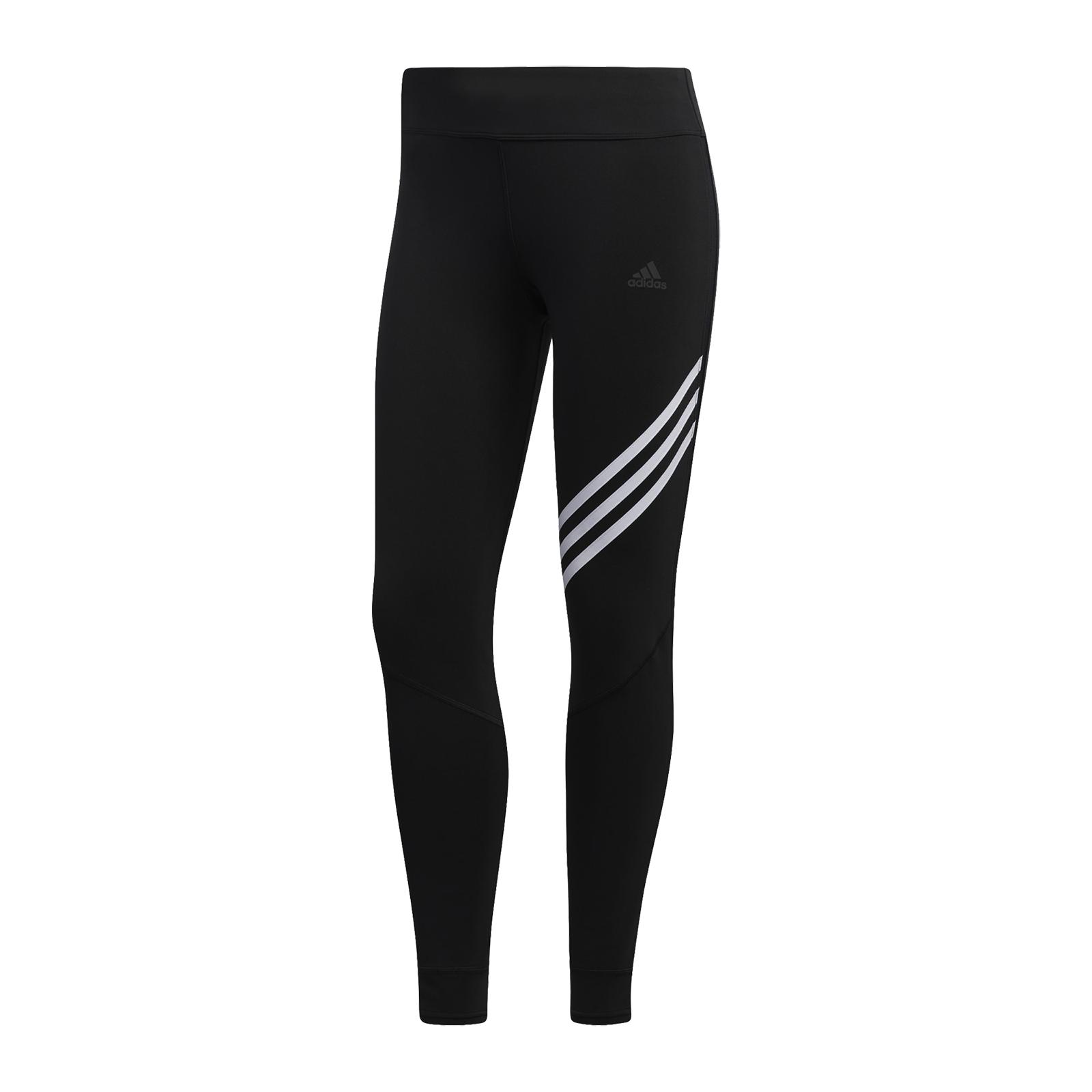 adidas 緊身褲 Run It 3-Stripes 7/8 9分褲 愛迪達 女款 運動褲【ACS】 ED9305