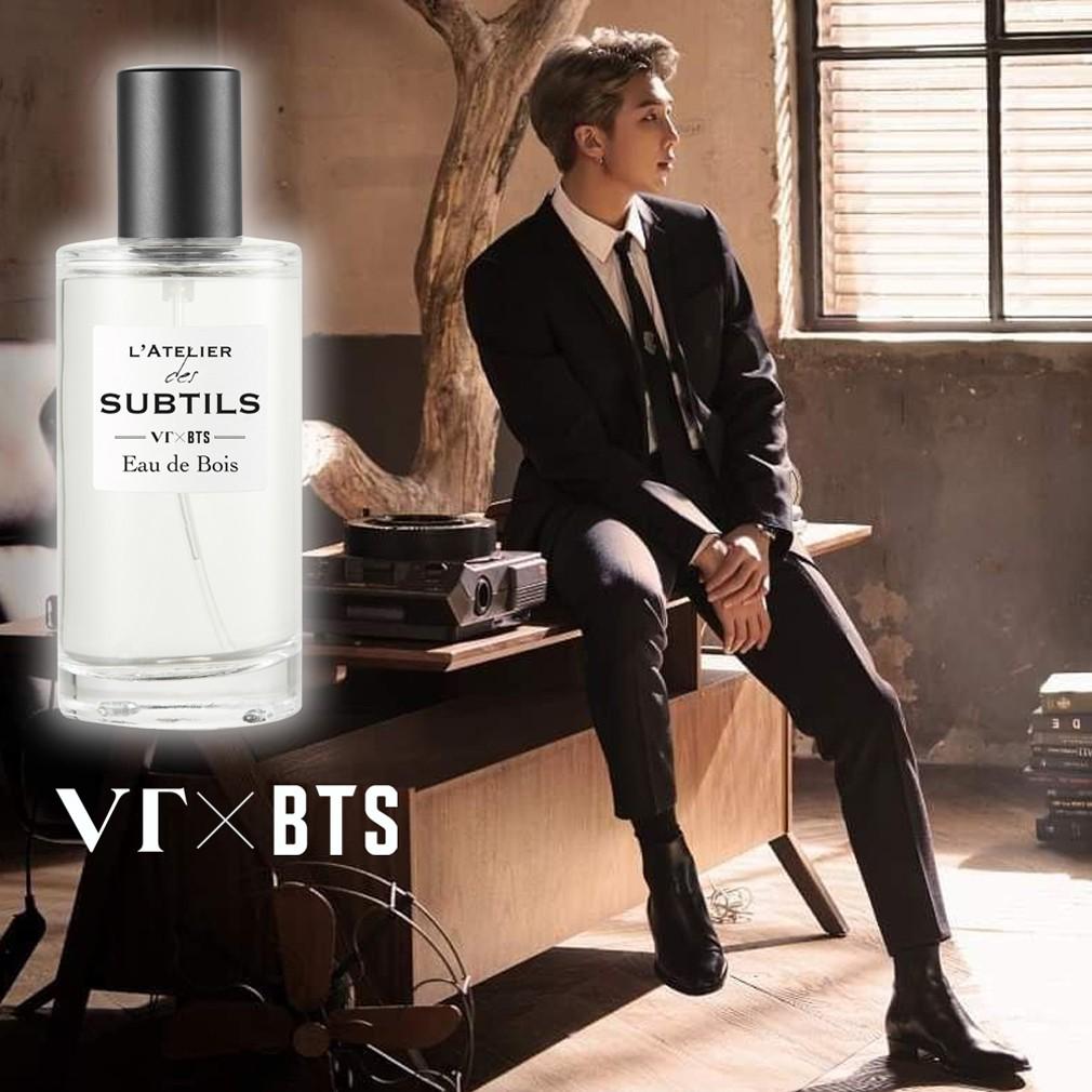 【官方獨家】VT X BTS L'ATELIER-RM「森之呼吸」香水禮盒(贈品詳見內文)