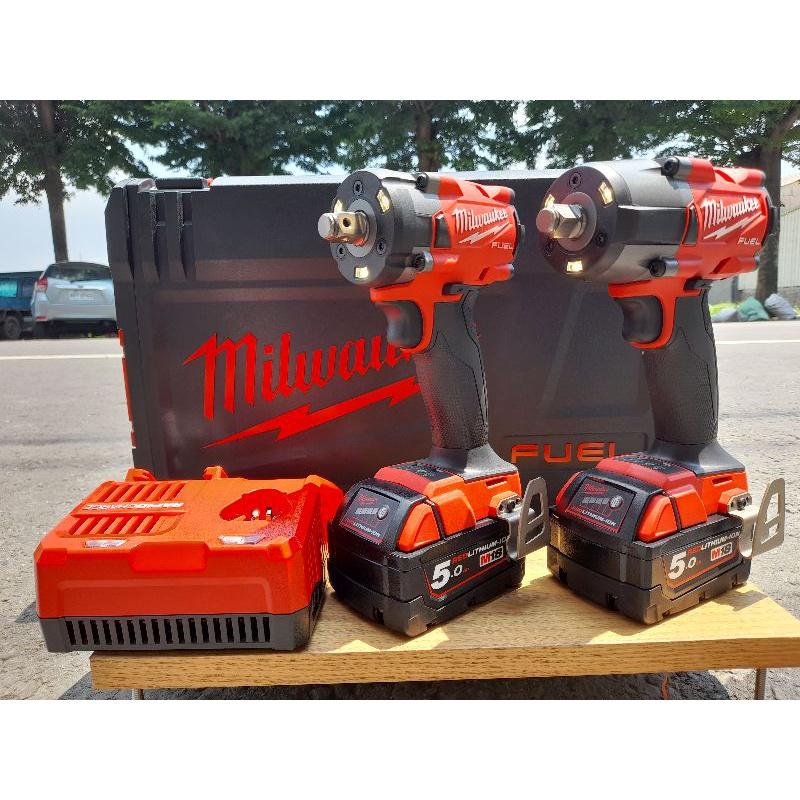 【限量】公司貨 新款美沃奇 M18 FIW212 M18 FMTIW2F12  5.0雙電全配【附工具箱】