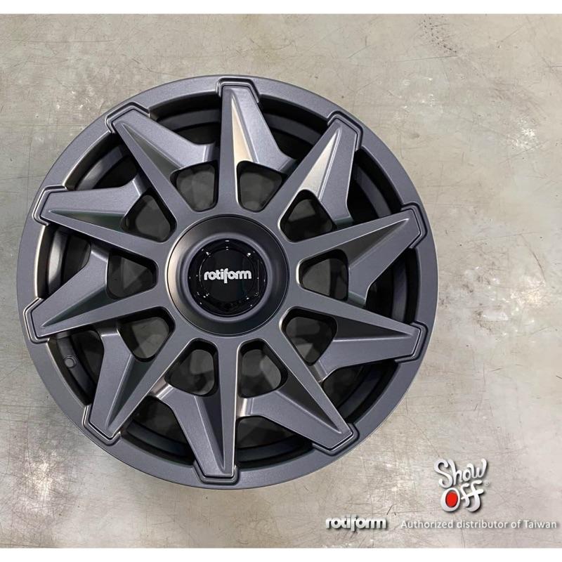 高雄人人輪胎 rotiform cvt 19吋 20吋 鋁圈 5孔 112 114.3 120 108 100 鐵灰色
