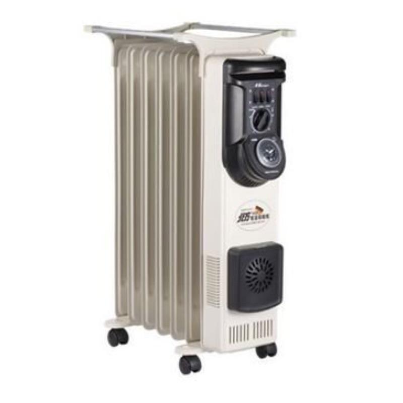 北方11片葉片式電暖器(9.9新)