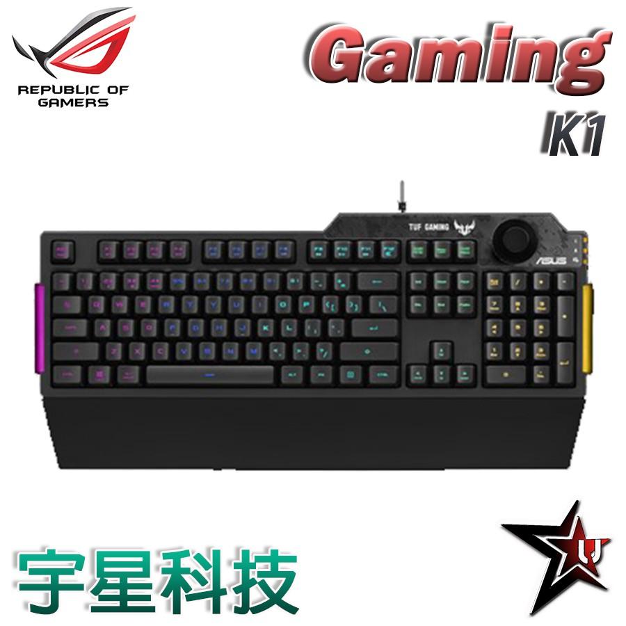 華碩 ASUS TUF Gaming K1 RGB 電競鍵盤