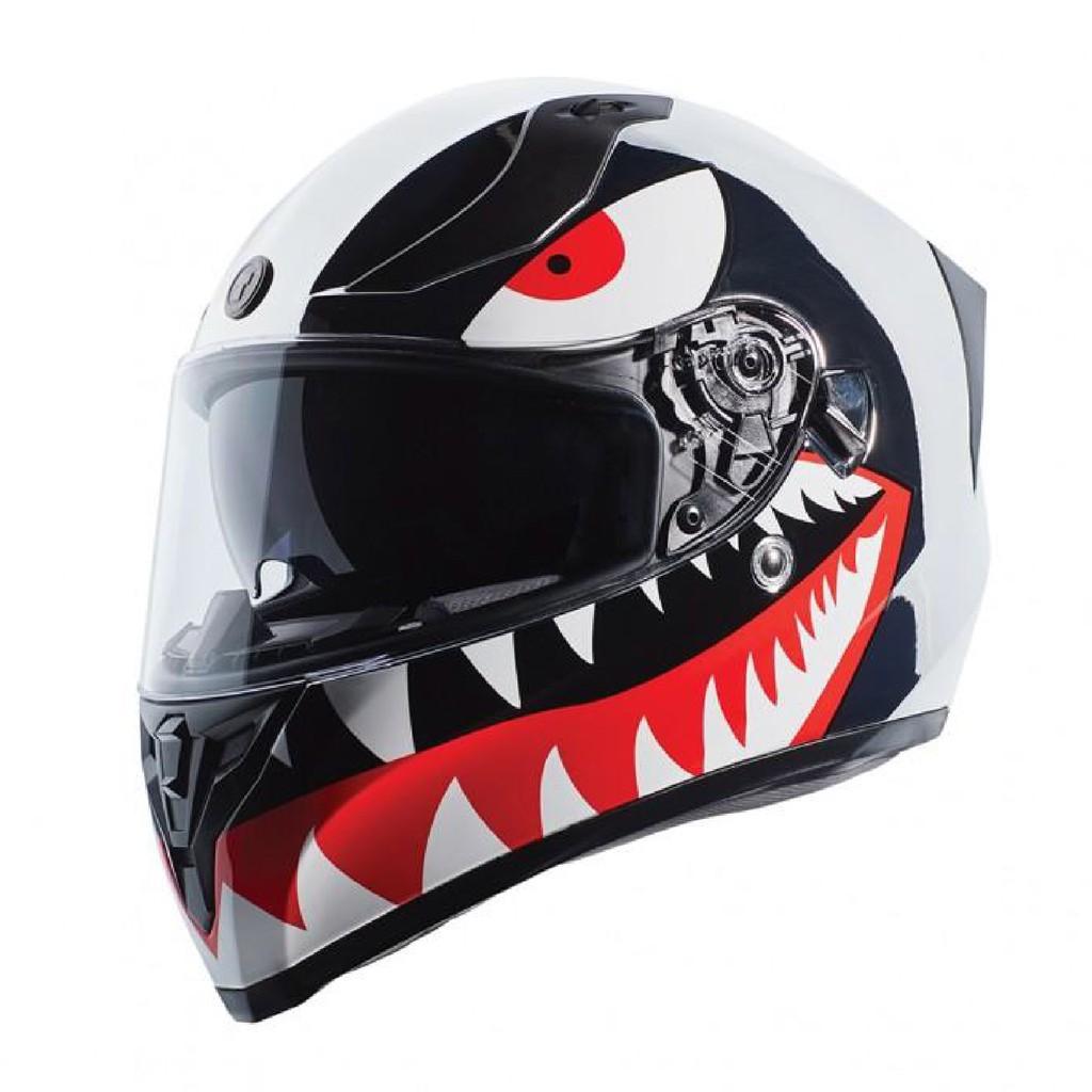 [安信騎士] TORC T15 Flying Tiger 飛虎 電鍍銀烤漆 雙鏡片 全罩 安全帽 雙D扣 DOT ECE