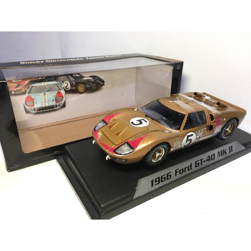 賽道狂人 shelby collectibles Ford GT40 #5 5號車 1:18 1/18 季軍