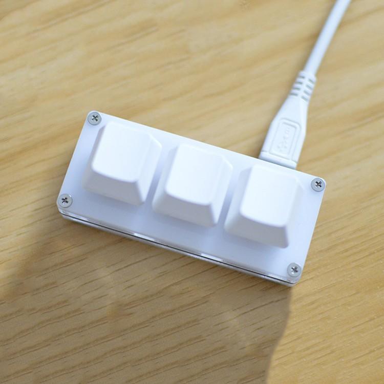 迷你三鍵鍵盤遊戲鍵盤編程宏鍵盤機械鍵盤, 帶軟件 Osu