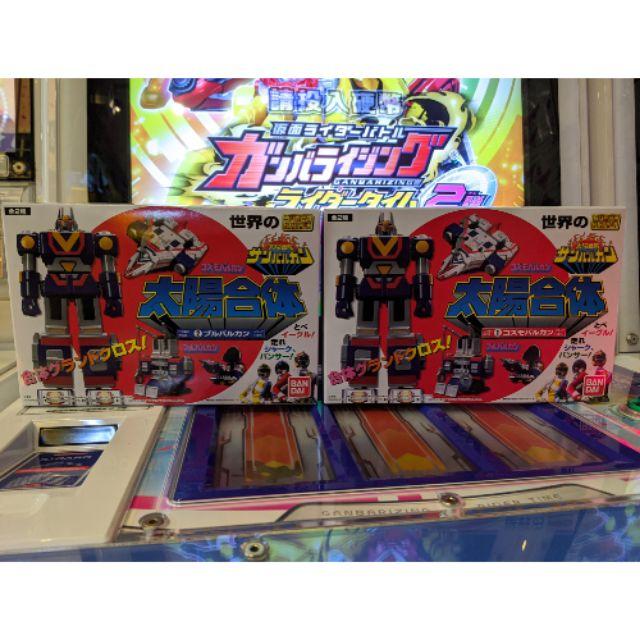 日版現貨 萬代食玩 SUPER MINIPLA 太陽戰隊  太陽合體 太陽火神 一中盒全2種合售