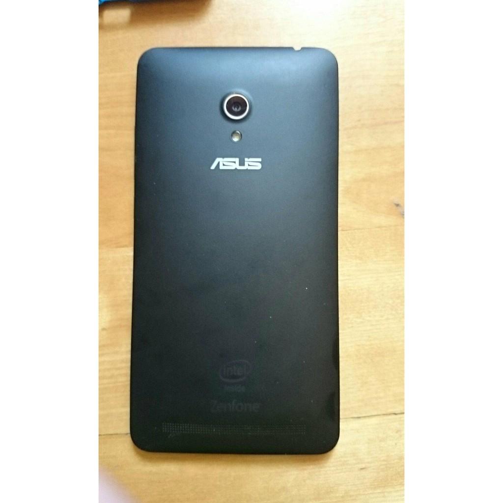 (附贈手機殼 保護殼) ASUS ZenFone6  T00G A600CG 二手 黑色 手機 6吋 超大螢幕 長輩可用