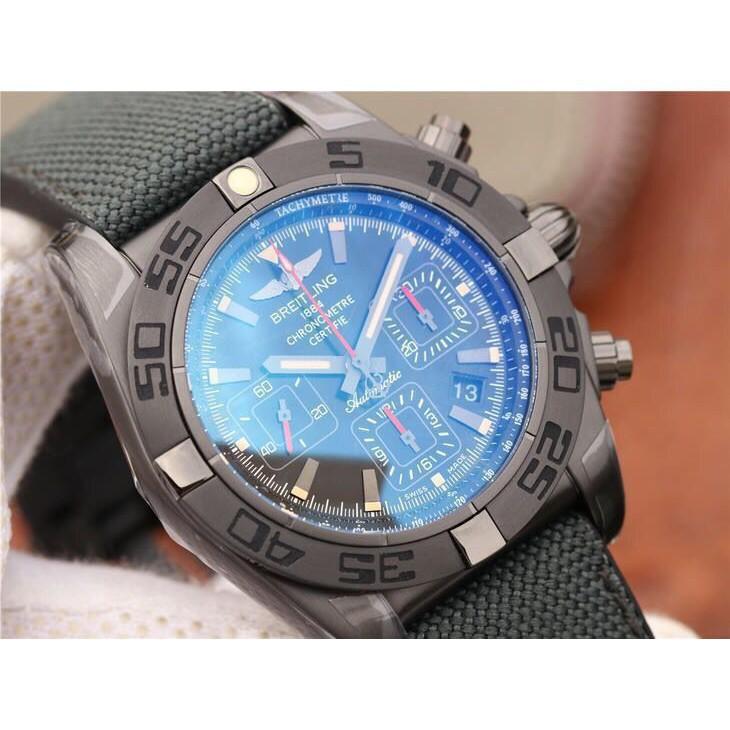 Breitling 百年靈 全自動機械腕錶 黑鋼 計時錶 男士腕錶  免運