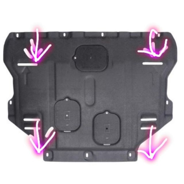 (現貨)13-2021年 Kuga  focus mk3 mk3.5塑鋼下護板  塑鋼材質