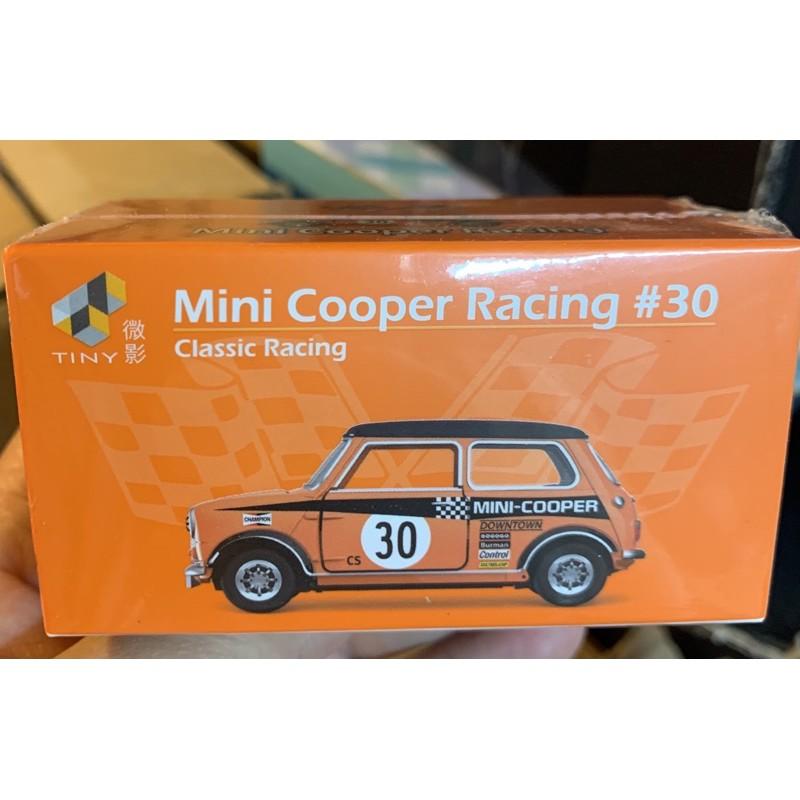 TINY  微影 1/64 #30號。MINI COOPER RACING