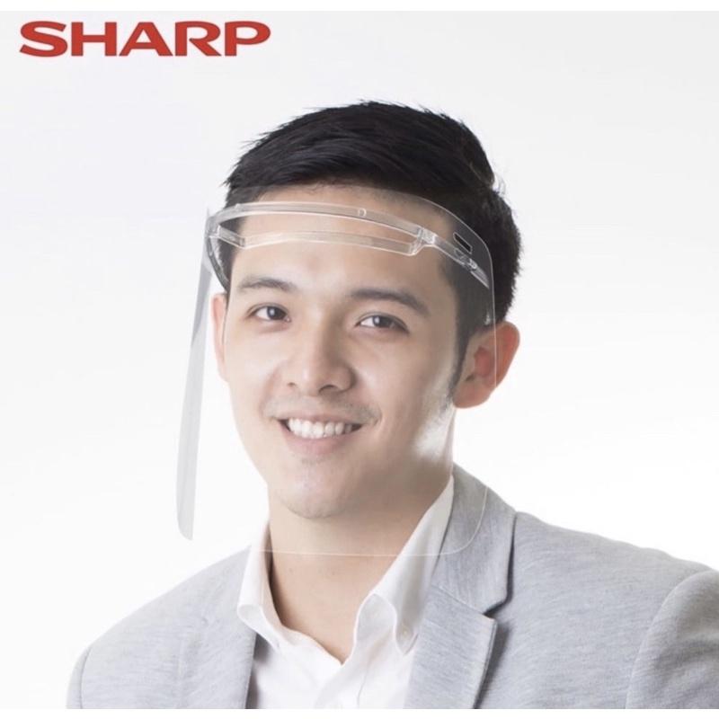 免運費❤️ 當天出貨🔥 SHARP 夏普面罩 奈米科技蛾眼防護面罩 防疫面罩 不起霧 不反光 防噴濺面罩