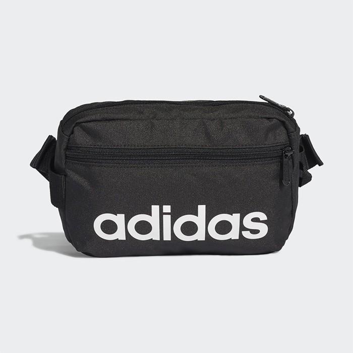 ADIDAS 腰包 斜背包 側背包 肩背包 LINEAR CORE WAIST BAG DT4827 19FWO 樂買網